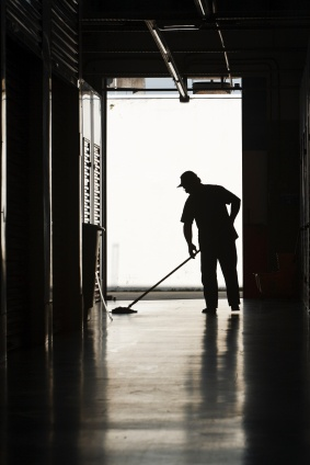 Floor cleaning in Haverford, PA by Building Pro Commercial Cleaning Services LLC